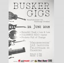 Benefizkonzert der Music Business StudentenInnen für Straßenmagazin Hinz&Kunzt