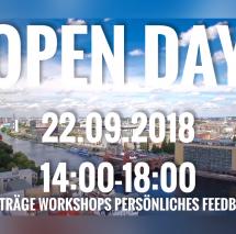 OPEN DAY - TAG DER OFFENEN TÜR: MEET SAE BERLIN