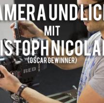Kamera, Licht, Bildgestaltung - Filmworkshop mit Christoph Nicolaisen (Oscar Gewinner)