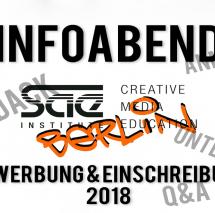 Berlin - INFOABEND: Bewerbung und Einschreibung 2018