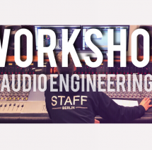 RECORDING DRUMS WORKSHOP - BERLIN - AUDIO