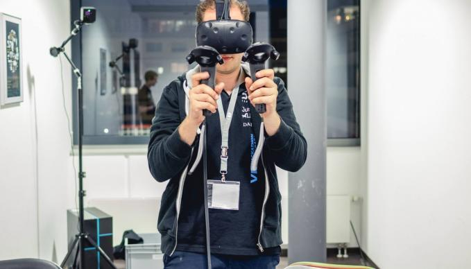 Workshoptag: Virtual Reality