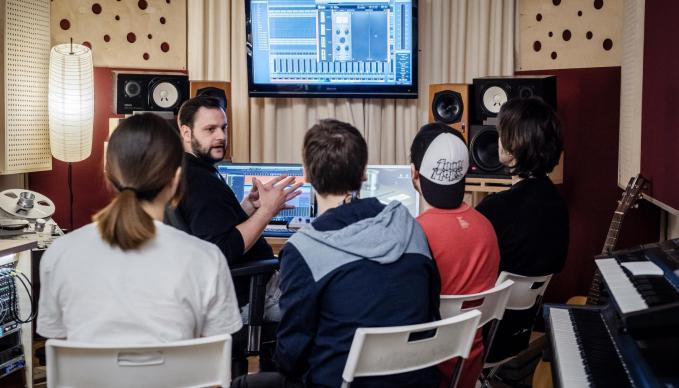 BERLIN - WORKSHOP: AUDIO ENGINEERING