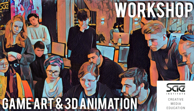 BERLIN - WORKSHOP: Game Art & 3D Animation