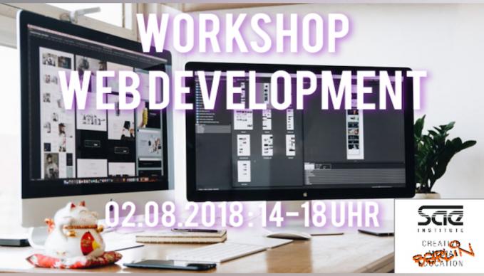 Lebenslauf-Homepage ohne Vorkenntnisse erstellen und online stellen - Workshop am SAE Institute Berlin