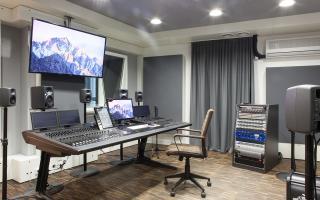 Studio Silver - Postproduction // Avid S6