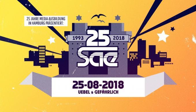 25 Jahre SAE Institute in Hamburg, Sleepwalker, Mirko Machine, Mr Schnabel, Nico Suave, Redchild, Fünf Sterne deluxe, Soundsystem, Party
