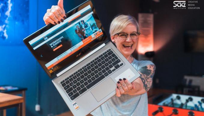 SAE Hamburg bekommt sechs brandneue R13 Chromebooks von Acer