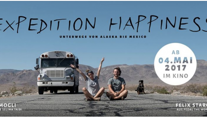 Kinofilm Expedition Happiness: Sebastian Twele, Manh Thung Pham, Greta Spitczok von Brisinski, Felix Starck, Selima Taibi, Mogli Music