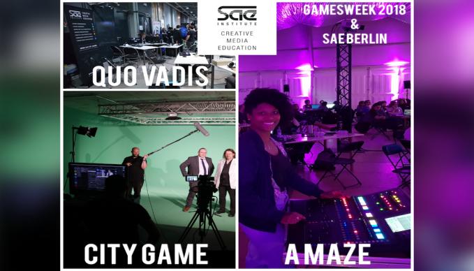 Gamesweek 2018 BERLIN - SAE NEWS APRIL