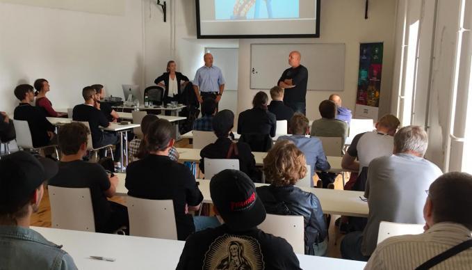 Job Recruiting Event mit dem Team von offstandards GmbH