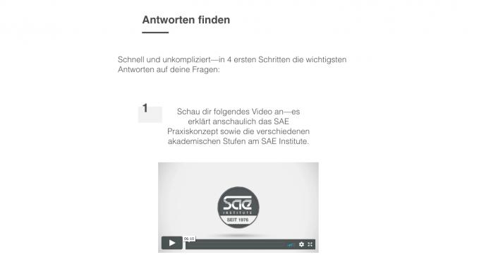 SAE BERLIN INFOPAGE - ALLE INFOS AUF EINEN BLICK
