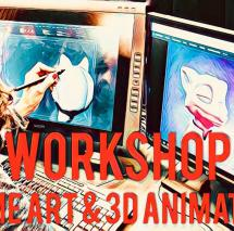 Workshop: Visual Storytelling with Uwe Heinelt: Game Art & 3D Animation (ENGLISH)