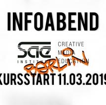 INFOABEND KURSSTART: 11.MÄRZ 2019