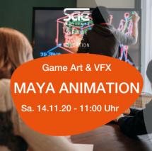 Maya Animation Workshop Film Postproduction VFX SAE Institute München