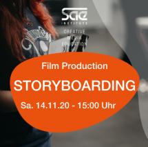 Storyboarding Film Filmmaking SAE Institute Workshop München