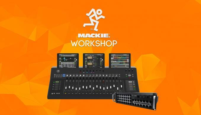"""Mixing-Workshop """"Mackie Axis - Digital Mixing System"""""""