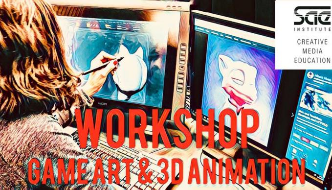 Workshop: Visual Storytelling mit Uwe Heinelt: Game Art & 3D Animation (ENGLISH)