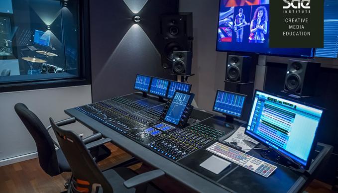 SAE Institute München Mix your Track Workshop Audio Engineering