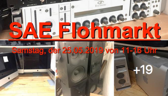 SAE Hamburg Equipment Flohmarkt: Samstag, der 25.05.2019 von 11-16 Uhr