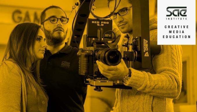 Film Production Workshop Kamera Licht Set SAE Institute München