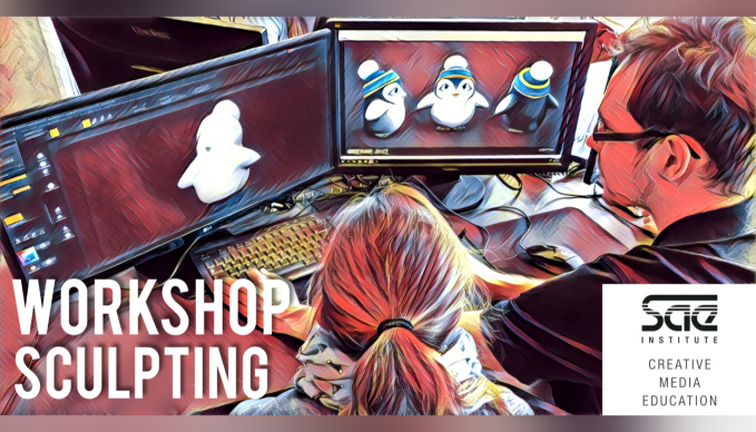 GAME ART & 3D ANIMATION WORKSHOP - BERLIN - SCULPTING