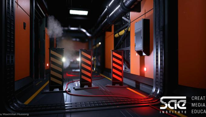 Leveldesign Lighting Fortnite Unreal 4 Engine Workshop SAE Institute München
