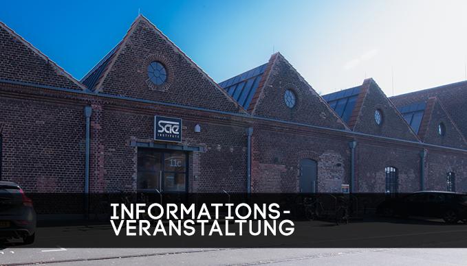 Infoabend Master am SAE Institute Köln