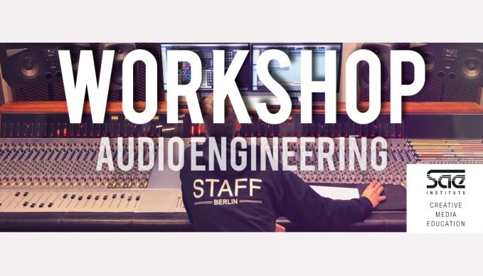WORKSHOP: Audio Engineering - Mixing Deutsch-Rap