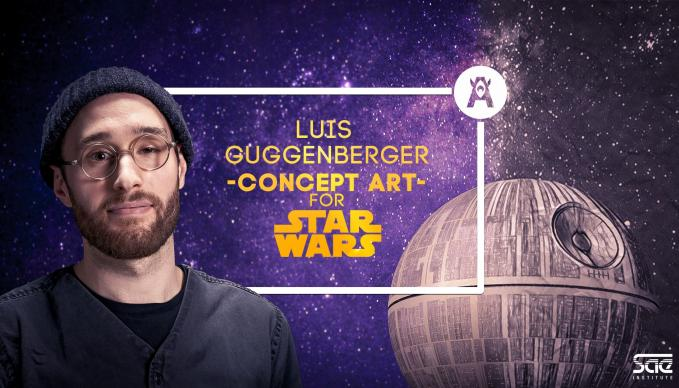 SAE Institute Star Wars Lucasfilm Luis Guggenberger Masterclass Game Art Visual FX 3D Animation Concept Art