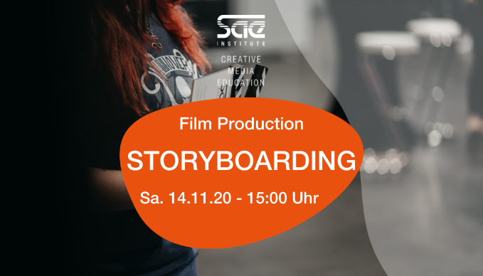 Storyboarding Film Filmmaking SAE Institute Workshop München