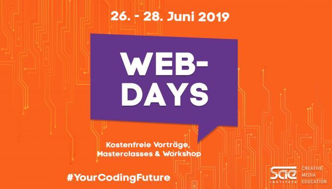 SAE Web-Days vom 26 Juni bis 28 Juni.