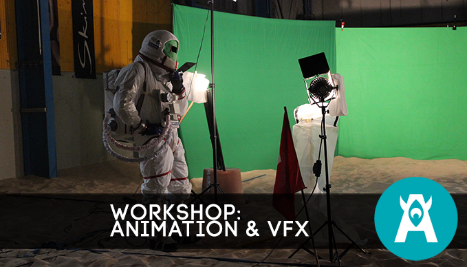 SAE Köln VFX und 3D Animation Workshop