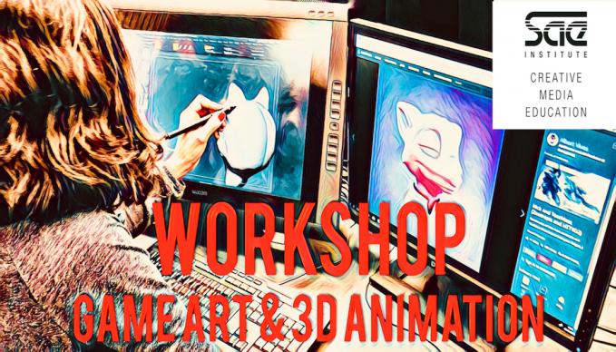 BERLIN - WORKSHOP: Game Art & 3D Animation (ENGLISH)