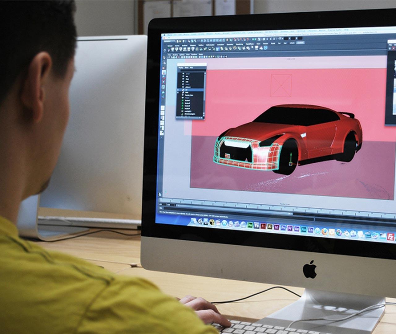 3D Modelling in Maya