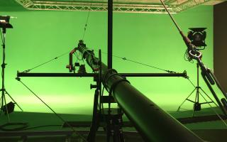 Greenscreen Studio -Cameracrane