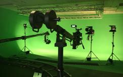 Greenscreen Studio - RED Camera, Dolly, ARRI Lighting System