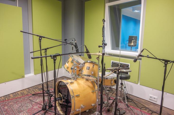 Studio Green - Recording Room
