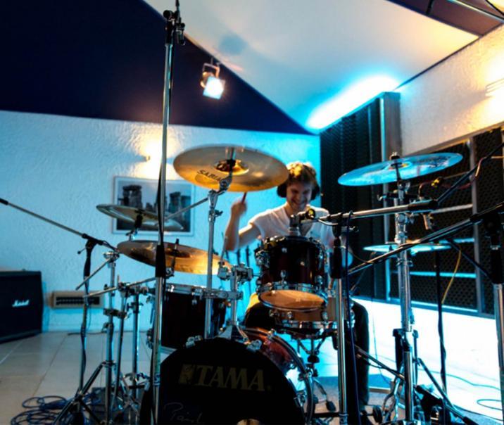 Schlagzeugkabine