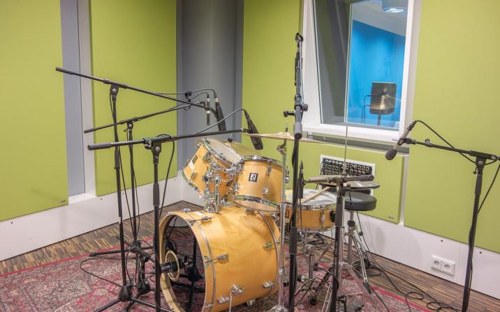 Studio Green - Recording Room
