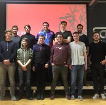 Präsentations-Show der Hamburger Game Programming Diploma Projekte des letzten Semesters