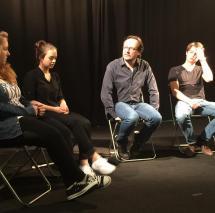 SAE INSTITUTE BERLIN - Regie Unterricht mit Elmar Fischer