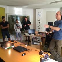 Toneworx Studios in Hamburg
