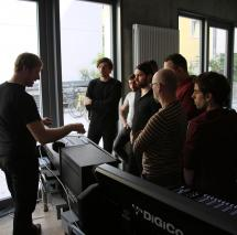 Hands-on-Workshop with Digico Digital Mixers
