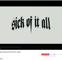 "Absolvent Daniel Prieß produziert Musikvideo für Hardcore Legenden ""Sick Of It All"" aus NYC"