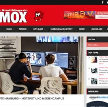 Super informativer Artikel vom OXMOX Magazin über unseren SAE Mediencampus