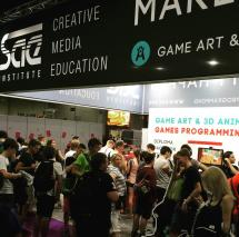 SAE Institute auf der gamescom 2015