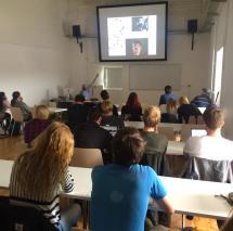 """""""Meet the professionals"""" zum Thema """"Filmlichtgestaltung"""" mit Achim Dunker"""
