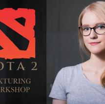 Neele Luckmann Dota2 Praxis Workshop SAE Game Art 3D Animation