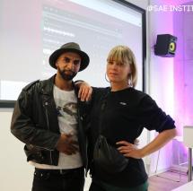 Jamahook & Melbeatz zu Gast an der Berliner SAE